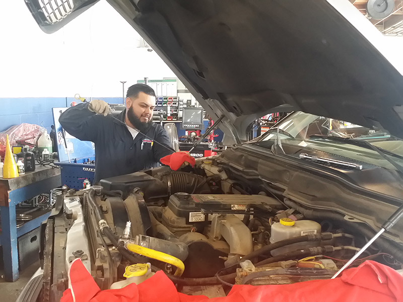Auto Repair Mechanic Alex with Vehicle Inspection