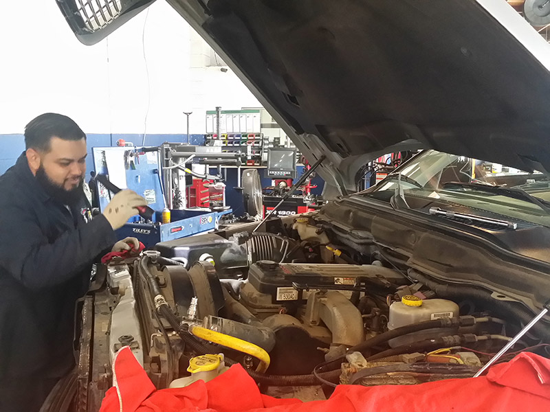 Auto Repair Expert Alex with Engine Repair